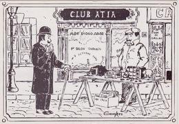 ALBI - 1er Salon TARNAIS Du 7 Octobre 1979 - Dessin De C. Combes - Club ATIA MJC Albi - Beursen Voor Verzamellars