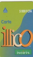 Ivory Coast - Carte Illico 5 000 F CFA - Ivoorkust