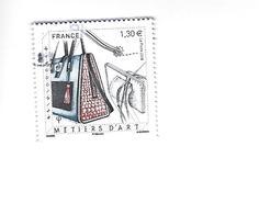 Les Métiers D'Art Maroquinier 5209 Oblitéré - Usati