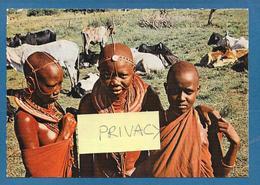 KENYA MASAI GIRL AND WOMAN - Kenia