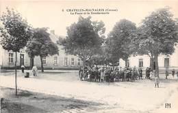 CHATELUS-MALVALEIX - La Poste Et La Gendarmerie - Chatelus Malvaleix