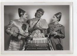 C3147/ Ety Van Veen Comp. Klassische Clowns  Variete In Köln Foto Ca.1955 - Autres Collections