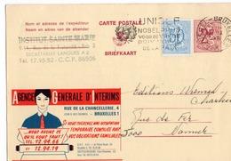 Publibel - 2329 FN - Agence Générale D'Interims - Flamme Unicef - Brussel - Bruxelles. - Publibels