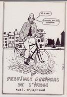 ALBI - 1er Festival Régional De L'Image (17, 18 Et 19 Avril 1981) - Dessin De Combes (vélo) - Beursen Voor Verzamellars