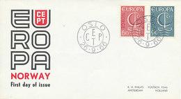 DC-2071 FDC EUROPA CEPT 1966 - NORWAY - Europa-CEPT