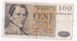 Belgique. 100 Francs 16 07 1958, - 100 Franchi