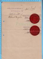 Autographe De M. Jacob Nicol, Député Richmond Et Compton, Comme Conseiller Du Roi, 1920 - Documents Historiques