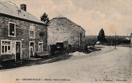 Tenneville Ortheuville Maison Gérard Defèche Négociant édit Duparque Florenville N°22 1911 - Tenneville