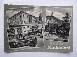 Q429 CARTOLINA Di SALUTI DA MADDALONI VEDUTINE   CASERTA    VIAGGIATA - Aversa