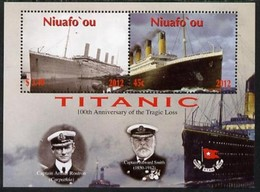 Tonga Niuafo'ou 2012 Yvertn° Bloc 43  *** MNH Cote 7 € Transport Bateaux Ships - Tonga (1970-...)