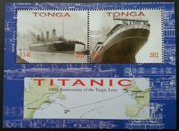 Tonga 2012 Yvertn° Bloc 49  *** MNH Cote 7 € Transport Bateaux Ships - Tonga (1970-...)