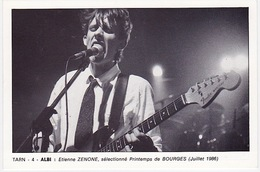 ALBI - CICPC 10ème Salon Cartes Postales Anciennes (décembre 1987) - Etienne ZENONE, Sélectionné Printemps De BOURGES - Beursen Voor Verzamellars