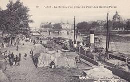 PARIS - La Seine, Vue Prise Du Pont Des Saints-Pères - Die Seine Und Ihre Ufer