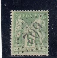 France - Sage, Type Ii - N°YT 106 - 5c Vert-jaune - Oblit Losange GC 602 - 1898-1900 Sage (Tipo III)
