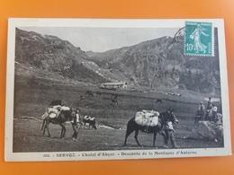 Servoz - Chalet D'abyer - Descente De La Montagne D'anterne - France