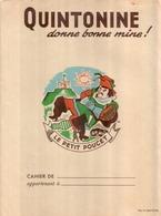 BEAU Protège Cahier Ancien Pub QUINTONINE - Book Covers