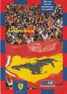 CARTOLINA: TIM CON FERRARI, INSIEME PER FAR PARLARE (EDIZIONE LIMITATA N° 0437) - F/G - COLORI - NON VIAGGIATA - LEGGI - Grand Prix / F1