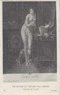 Nus - Femme Nue - Peintre Mallet - Jeux Cartes à Jouer Réussite - Chien - Style Empire - Editeur ND 73 - Tableaux