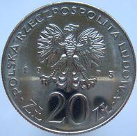 Poland 20 Zlotych 1975 UNC - Pologne