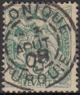 Levant Bureaux Français 1902-1922 - Salonique / Turquie Sur N° 13 (YT) N° 13 (AM). Oblitération. - Levant (1885-1946)