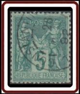 Levant Bureaux Français - Constantiinople / Turquie Sur France N° 75. Oblitération. - Levant (1885-1946)