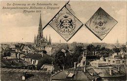 CPA AK MÜLHAUSEN - MULHOUSE - Zur Erinnerung An Die Fahnenweile (388669) - Mulhouse