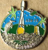 356-3 Space Russian Pin. Soyuz-ST Satellite O3b-F5 Progress Plant. Armadillo - Space