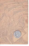 MONNAIE(CARTE GAUFREE) - Monete (rappresentazioni)