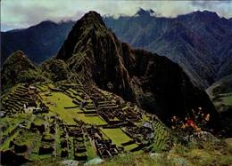 PERU. CUZCO. VISTA PANORAMICA DE MACHUPICCHU - MACHUPICCHU'S PANORAMIC VIEW. B11. (385) - Perú