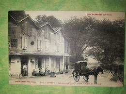 LOURES (65) - Labroquère , Près Loures - Route De Luchon - Beau Plan [ Calèche - Boulangerie Auberge Café ] - France