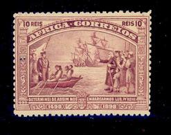 ! ! Portuguese Africa - 1898 Vasco Gama 10 R - Af. 03 - MH - Afrique Portugaise