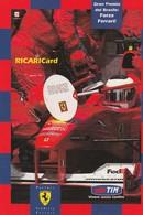 CARTOLINA: TIM CON FERRARI, GRAN PREMIO DEL BRASILE (EDIZIONE LIMITATA N° 0452) - F/G - COLORI - NON VIAGGIATA - LEGGI - Grand Prix / F1