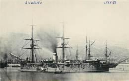 """BATEAUX DE GUERRE - """"Richelieu"""" (retirage Photo Format 14cm X 9cm Environ, Cachet Marius Toulon) - Bateaux"""