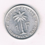 1 FRANC 1959  BELGISCH CONGO /8880/ - Congo (Belge) & Ruanda-Urundi