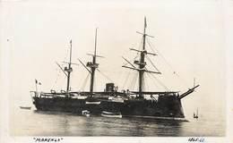 """BATEAUX DE GUERRE - Cuirassé """"Marengo"""" (nautical Photo). - Guerre"""