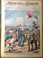 La Domenica Del Corriere 27 Ottobre 1935 Marconi Aviazione Aksum Tigrè Etiopia - Autres