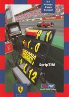 CARTOLINA: TIM CON FERRARI, G.P. DI SPAGNA (EDIZIONE LIMITATA N° 0471) - F/G - COLORI - NON VIAGGIATA - LEGGI - Grand Prix / F1