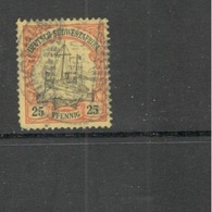 GERMAN COLONIES....SOUTHWEST AFRICA1901:Michel 15used - Colony: German South West Africa