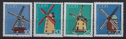 Germany (DDR) 1981  Windmuhlen (**)  MNH Mi.2657-2660 - Unused Stamps