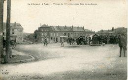 LE CHESNE  Voyage De Mr Clémenceau Dans Les Ardennes - Le Chesne