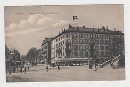 AC192 - SUISSE - GENEVE - Sortie De La Gare De Cornavin - Hôtel Café Restaurant - GE Ginevra