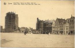 YPRES-IEPER - Grand'Place - Ruines Des Halles - Côté Sud - N'a Pas Circulé - Ieper