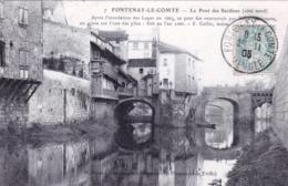 85 - Vendee - FONTENAY Le COMTE  - Le Pont Des Sardines - Fontenay Le Comte