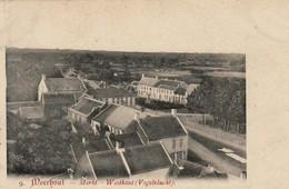 Meerhout - Zicht Op Merkt Kant West - Vogelvlucht 1909 - Meerhout