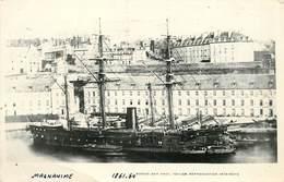 """BATEAUX DE GUERRE -Cuirassé """"Magnanime"""" (éditeur Marius Toulon). - Guerre"""