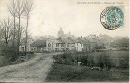 POURU AUX BOIS.  Entrée Du Village - France