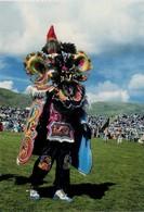 """PERU. PUNO. CAPORAL PERSONAJE DE """"LA DIABLADA"""" - CAPORAL DANCER OF """"LA DIABLADA"""". (550) - Perú"""