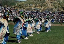 """PERU. PUNO. CONJUNTO DE """"LA DIABLADA"""" - DANCERS OF """"LA DIABLADA"""". (551) - Perú"""