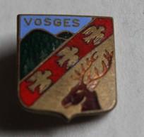 Ancienne Broche émaillée Vosges Blason - Oggetti 'Ricordo Di'