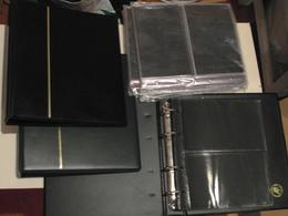 LOT De 3 CLASSEURS ALBUMS + 50 FEUILLES PAGES NEUVES  Pour LETTRES ENVELOPPES PREMIER JOUR (MARQUE FDC) - Album & Raccoglitori